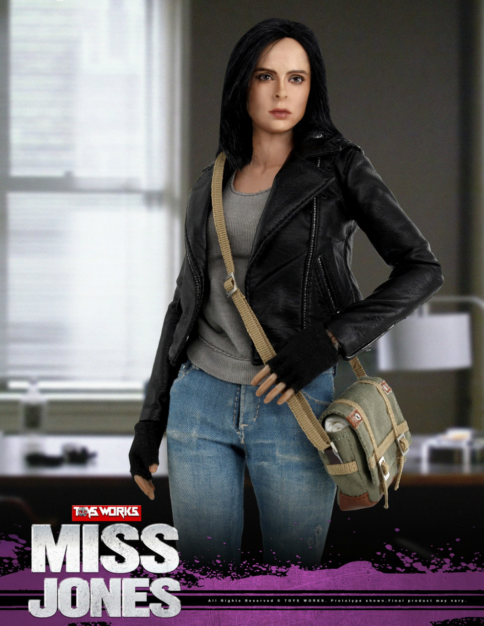 NEW PRODUCT: TOYS WORKS New: 1/6 Miss Jones Miss Jones can move TW007 19163616