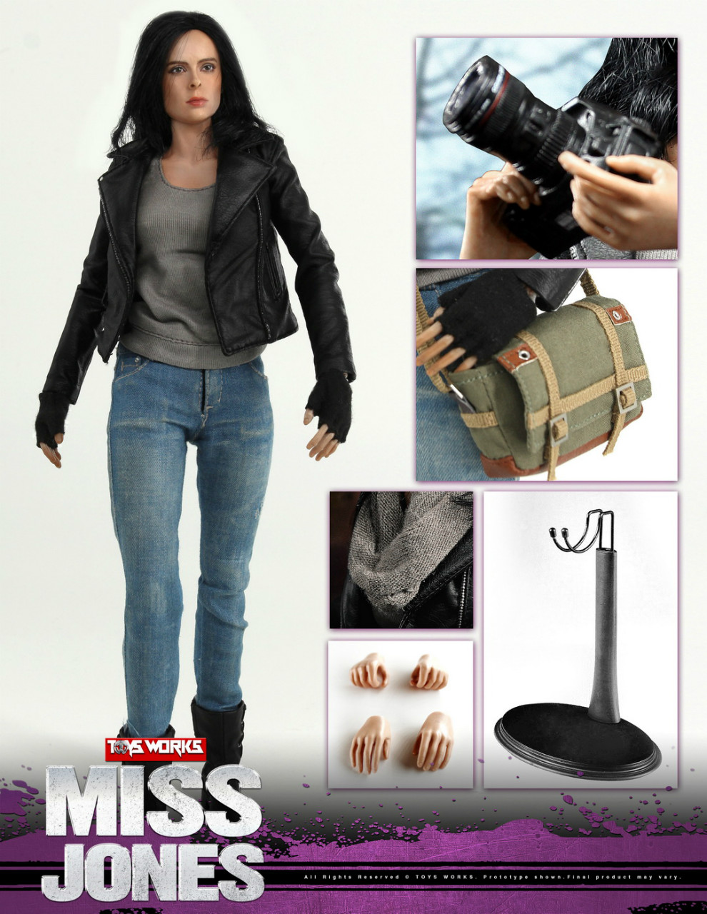 NEW PRODUCT: TOYS WORKS New: 1/6 Miss Jones Miss Jones can move TW007 19164310