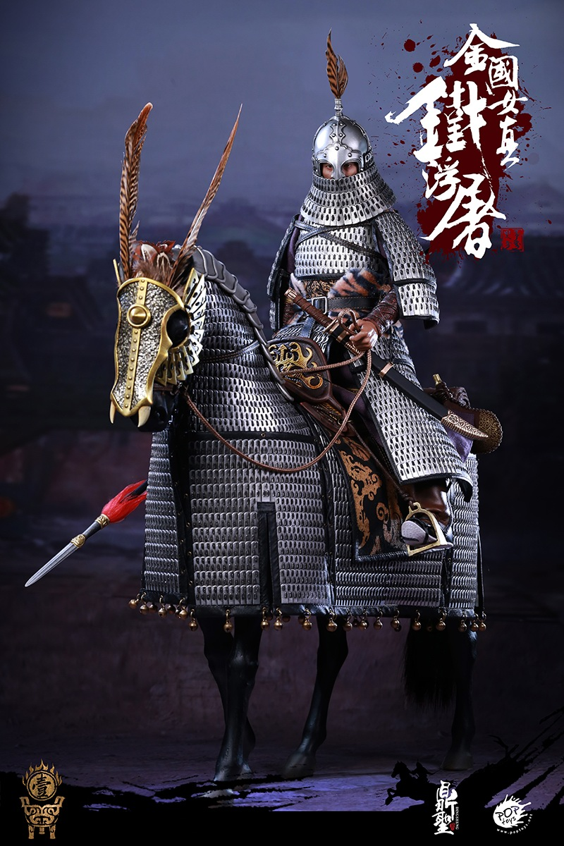 cavalry - NEW PRODUCT: Dingsheng Toys & POPTOYS 1/6 DS001 Jurchen Jin Dynasty Iron Pagoda - Standard & Deluxe Versions 19164710