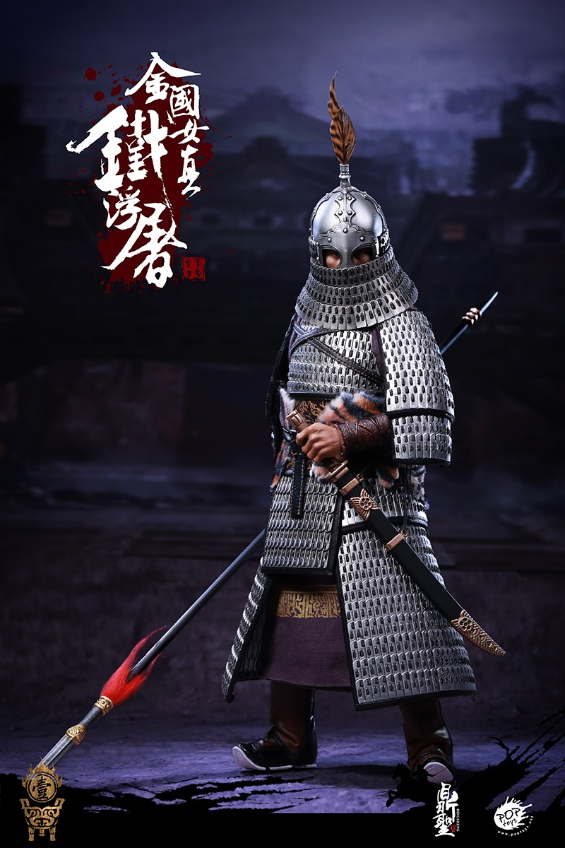 cavalry - NEW PRODUCT: Dingsheng Toys & POPTOYS 1/6 DS001 Jurchen Jin Dynasty Iron Pagoda - Standard & Deluxe Versions 19164810