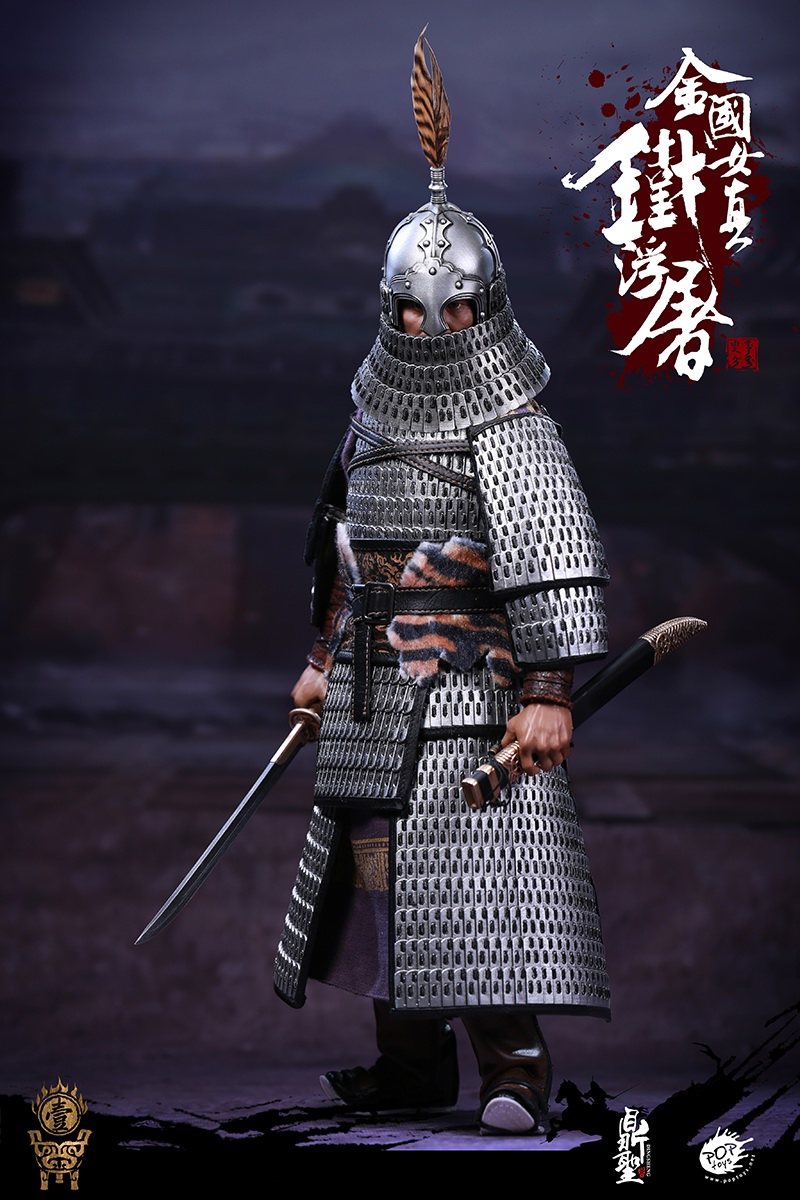 cavalry - NEW PRODUCT: Dingsheng Toys & POPTOYS 1/6 DS001 Jurchen Jin Dynasty Iron Pagoda - Standard & Deluxe Versions 19165010