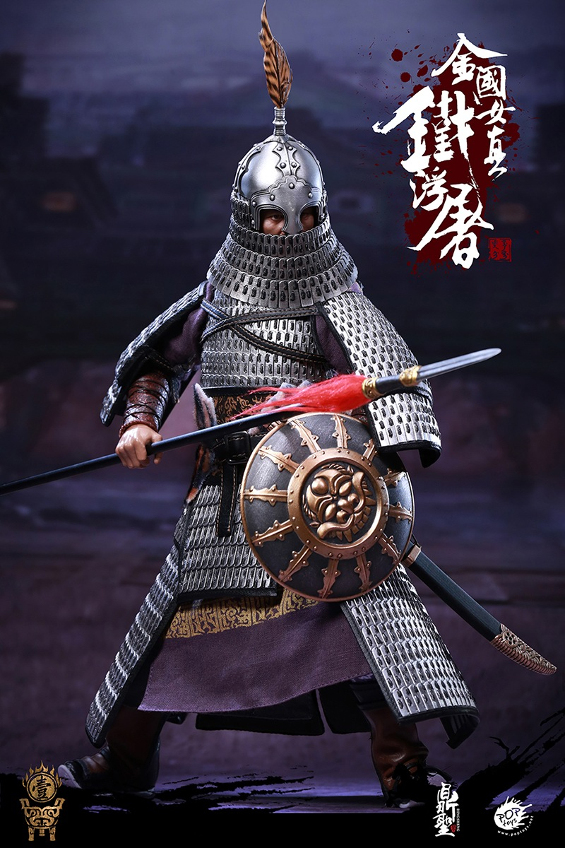cavalry - NEW PRODUCT: Dingsheng Toys & POPTOYS 1/6 DS001 Jurchen Jin Dynasty Iron Pagoda - Standard & Deluxe Versions 19165210