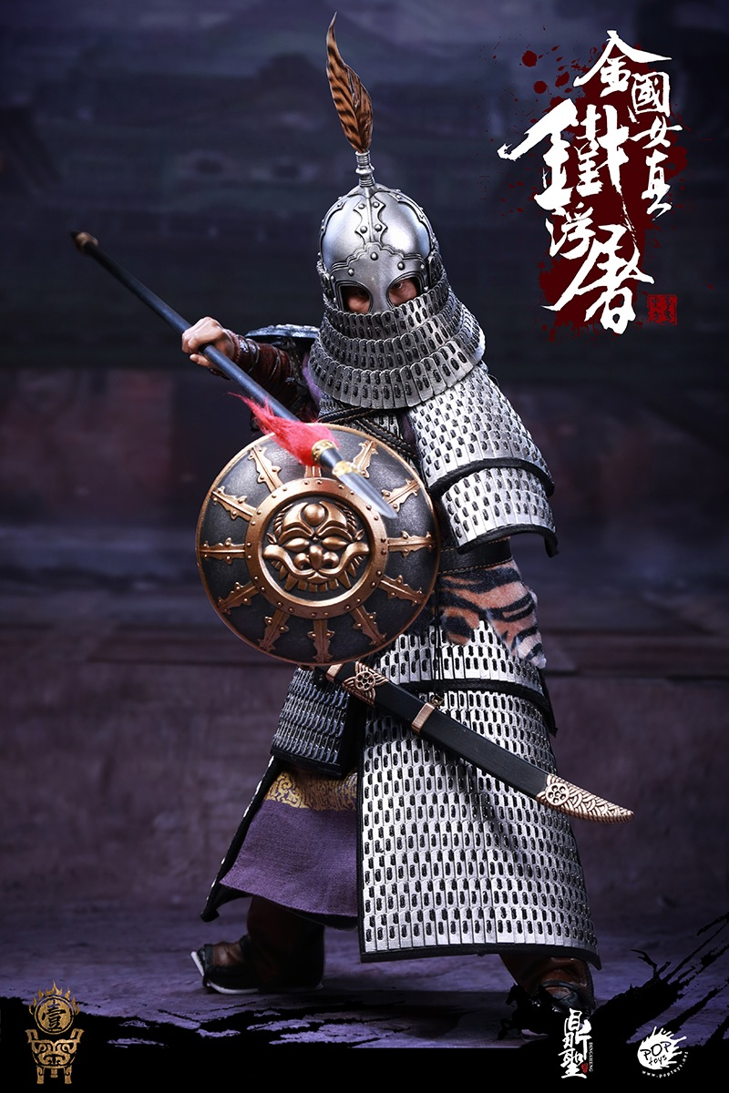 cavalry - NEW PRODUCT: Dingsheng Toys & POPTOYS 1/6 DS001 Jurchen Jin Dynasty Iron Pagoda - Standard & Deluxe Versions 19165410