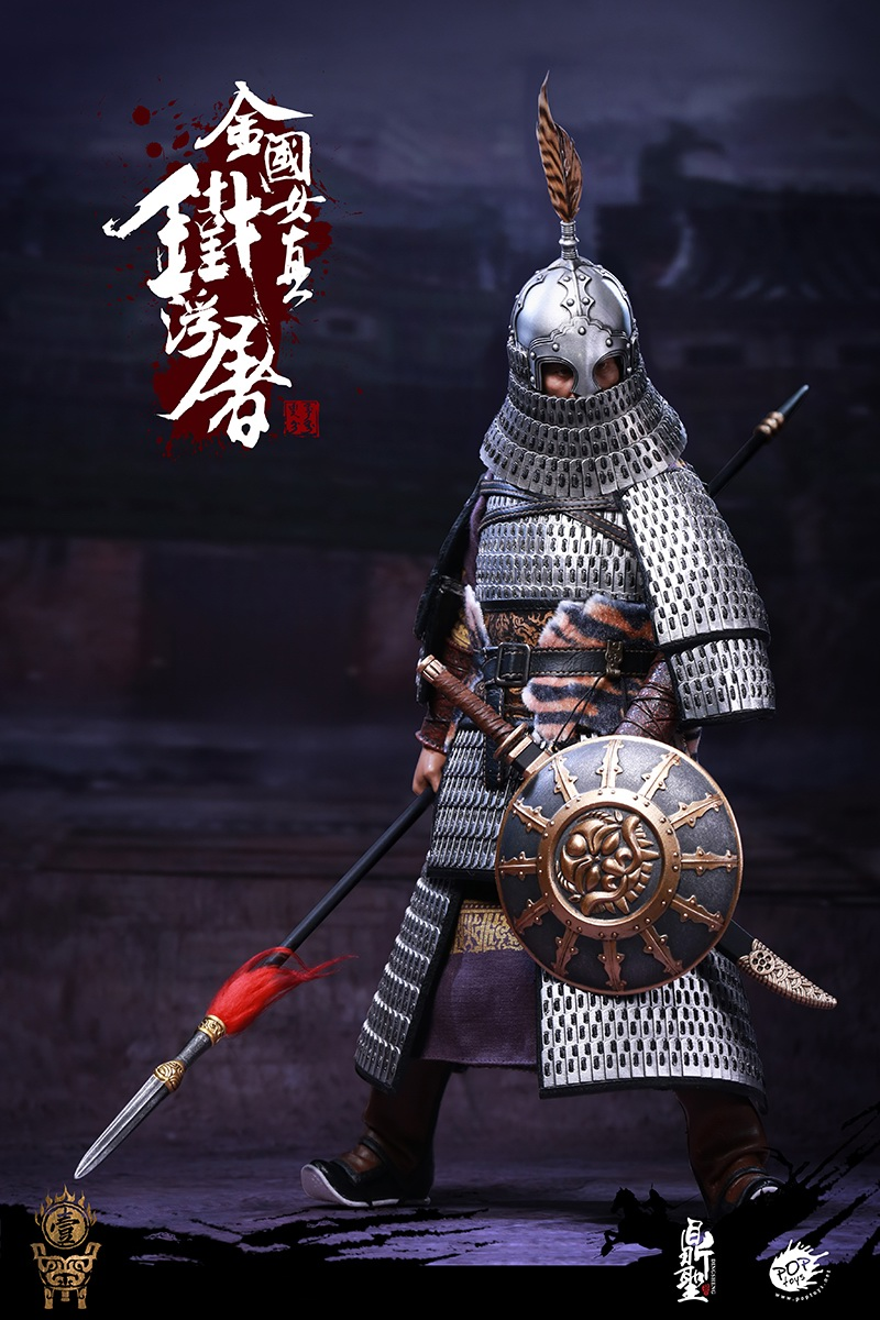cavalry - NEW PRODUCT: Dingsheng Toys & POPTOYS 1/6 DS001 Jurchen Jin Dynasty Iron Pagoda - Standard & Deluxe Versions 19165610