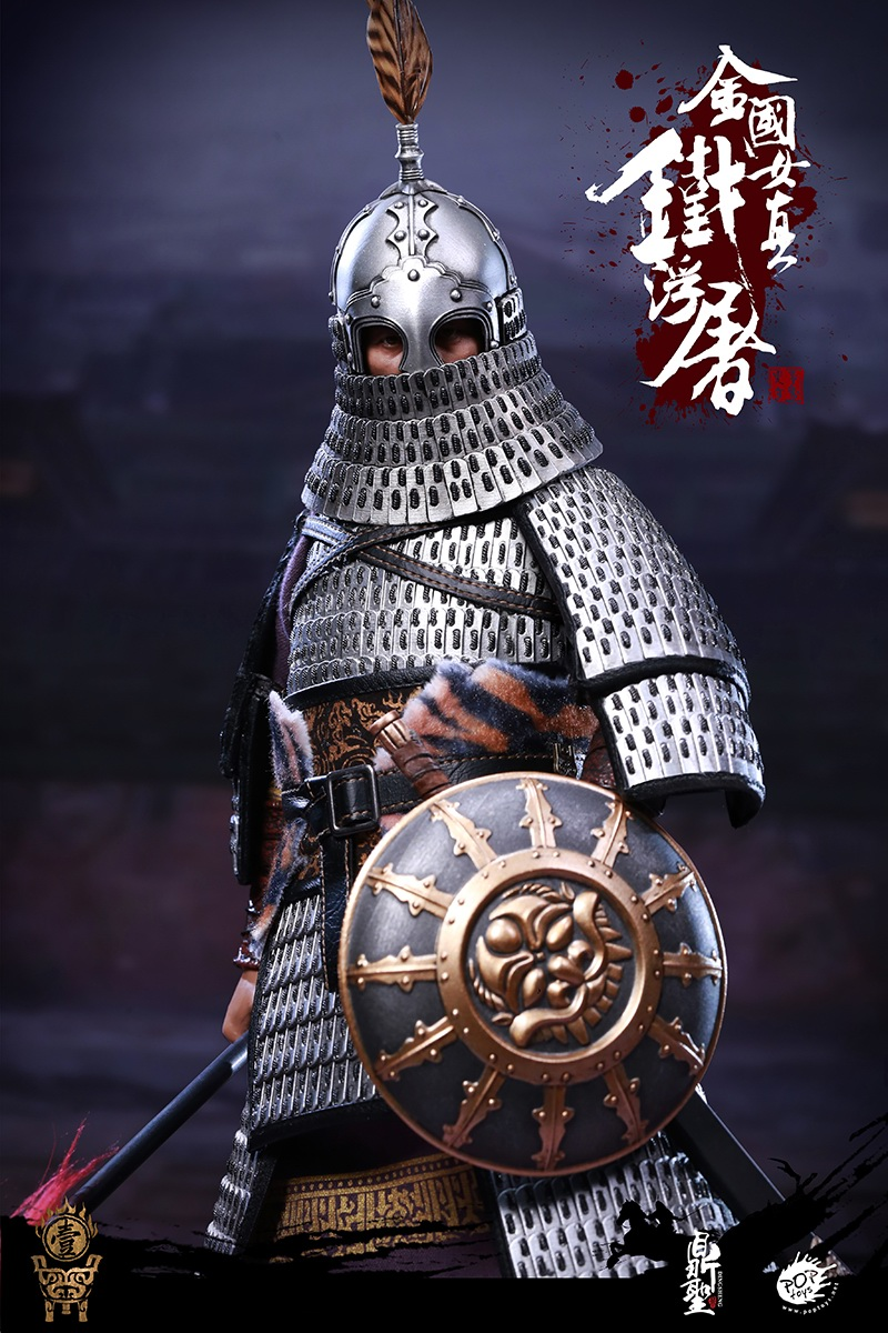 cavalry - NEW PRODUCT: Dingsheng Toys & POPTOYS 1/6 DS001 Jurchen Jin Dynasty Iron Pagoda - Standard & Deluxe Versions 19165810