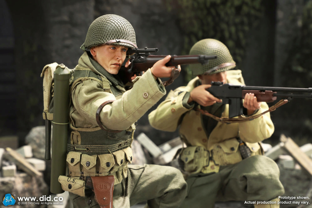 DiD - NEW PRODUCT: DiD: A80144 WWII US 2nd Ranger Battalion Series 4 Private Jackson 19168