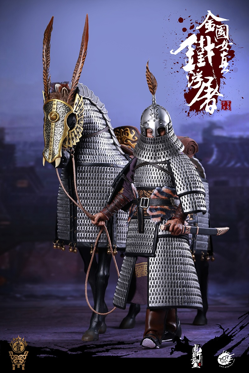 cavalry - NEW PRODUCT: Dingsheng Toys & POPTOYS 1/6 DS001 Jurchen Jin Dynasty Iron Pagoda - Standard & Deluxe Versions 19170010
