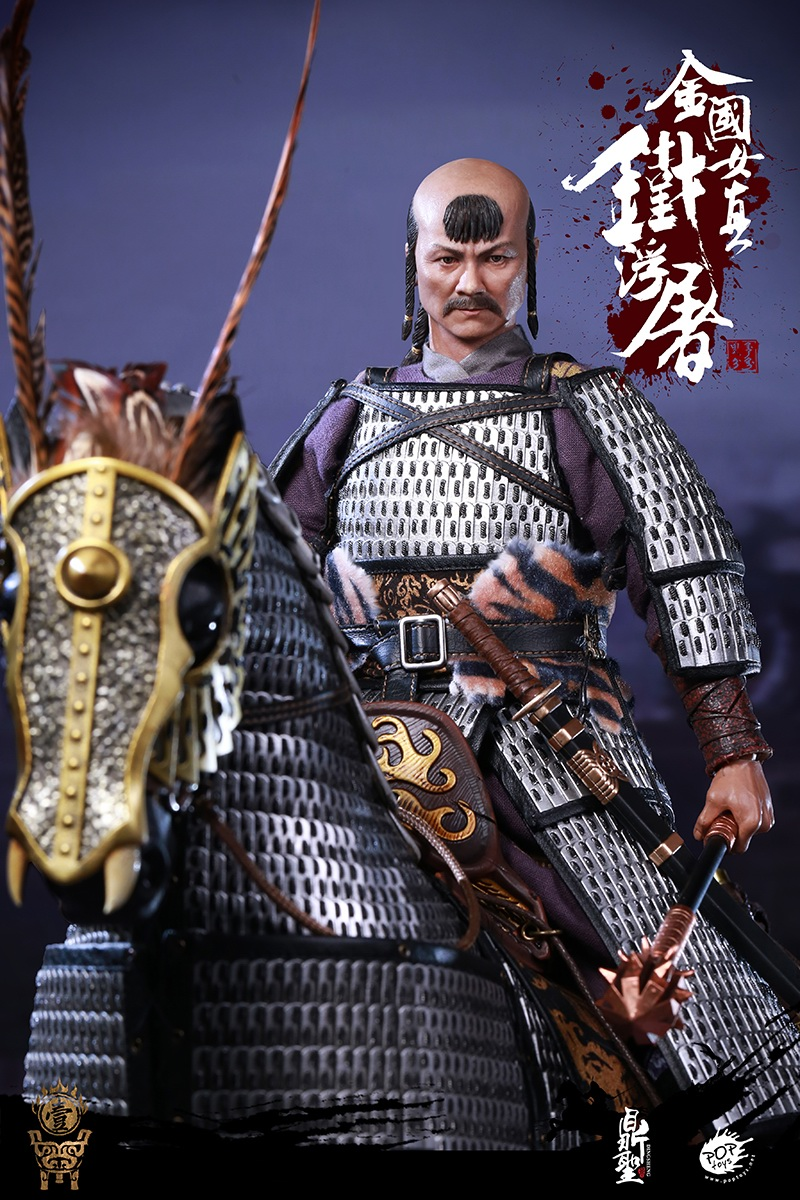 cavalry - NEW PRODUCT: Dingsheng Toys & POPTOYS 1/6 DS001 Jurchen Jin Dynasty Iron Pagoda - Standard & Deluxe Versions 19170510