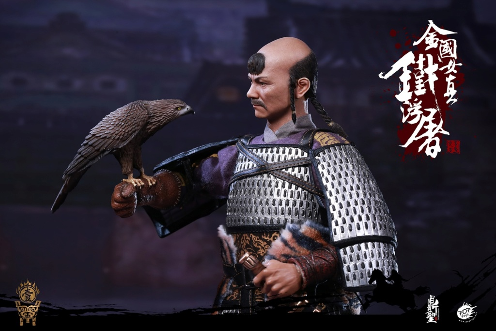 cavalry - NEW PRODUCT: Dingsheng Toys & POPTOYS 1/6 DS001 Jurchen Jin Dynasty Iron Pagoda - Standard & Deluxe Versions 19171110