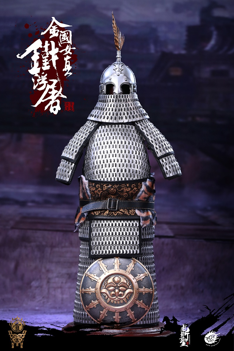 cavalry - NEW PRODUCT: Dingsheng Toys & POPTOYS 1/6 DS001 Jurchen Jin Dynasty Iron Pagoda - Standard & Deluxe Versions 19172210
