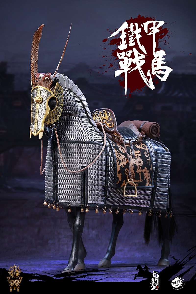 cavalry - NEW PRODUCT: Dingsheng Toys & POPTOYS 1/6 DS001 Jurchen Jin Dynasty Iron Pagoda - Standard & Deluxe Versions 19172510