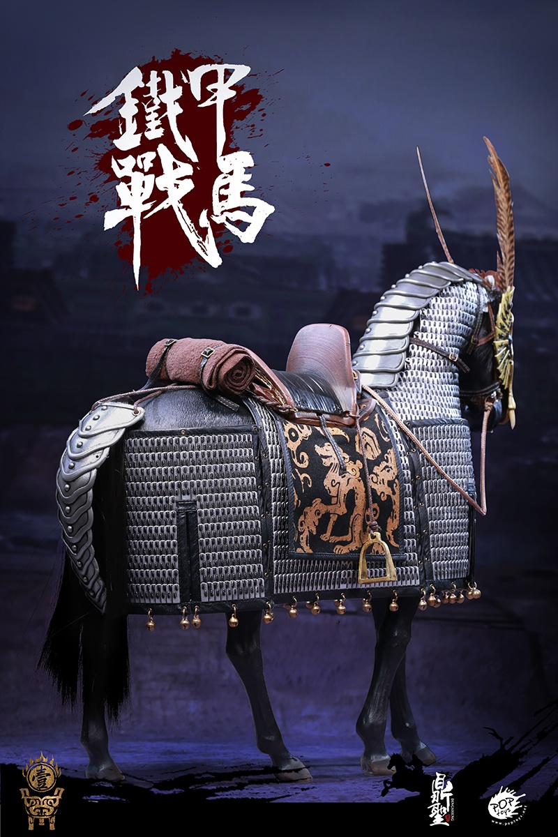 cavalry - NEW PRODUCT: Dingsheng Toys & POPTOYS 1/6 DS001 Jurchen Jin Dynasty Iron Pagoda - Standard & Deluxe Versions 19172710