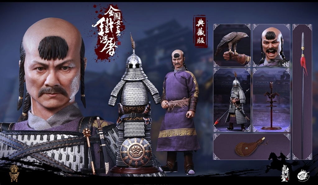 cavalry - NEW PRODUCT: Dingsheng Toys & POPTOYS 1/6 DS001 Jurchen Jin Dynasty Iron Pagoda - Standard & Deluxe Versions 19173110