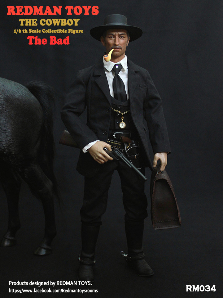 NEW PRODUCT: REDMAN TOYS New: 1/6 Western Cowboy - The Bad 19202315