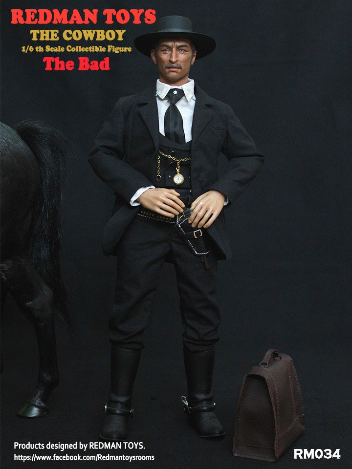 NEW PRODUCT: REDMAN TOYS New: 1/6 Western Cowboy - The Bad 19202316