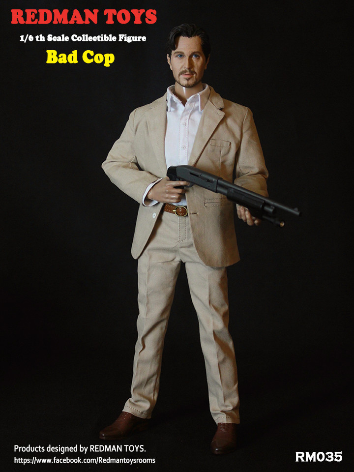 NEW PRODUCT: REDMAN TOYS New: 1/6 This killer bad police The Professional Bad Cop 19203112
