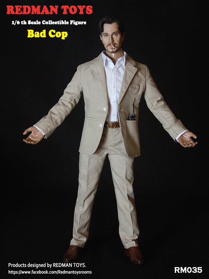 NEW PRODUCT: REDMAN TOYS New: 1/6 This killer bad police The Professional Bad Cop 19203113