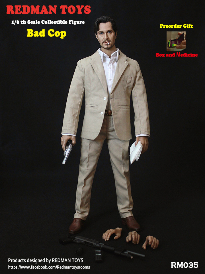 NEW PRODUCT: REDMAN TOYS New: 1/6 This killer bad police The Professional Bad Cop 19203114