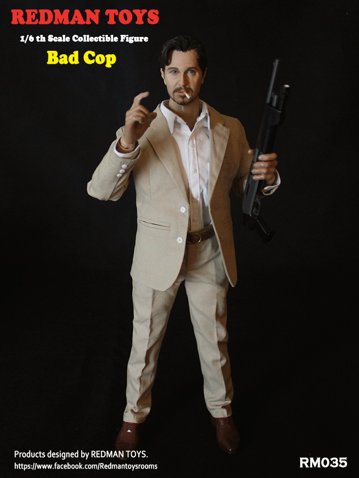 NEW PRODUCT: REDMAN TOYS New: 1/6 This killer bad police The Professional Bad Cop 19203116