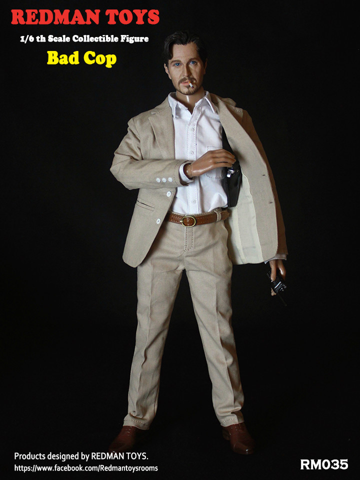 NEW PRODUCT: REDMAN TOYS New: 1/6 This killer bad police The Professional Bad Cop 19203117