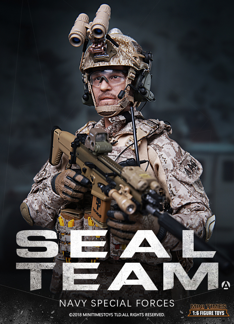 NEW PRODUCT: MINI TIMES TOYS US NAVY SEAL TEAM SPECIAL FORCES 1/6 SCALE ACTION FIGURE MT-M012 193