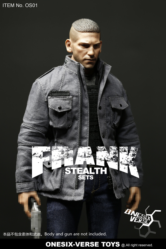 clothes - NEW PRODUCT: ONESIX-VERSE TOYS: 1/6 Frank FRANK Sneak Equipment Set (including head carving) OS01#  19323910