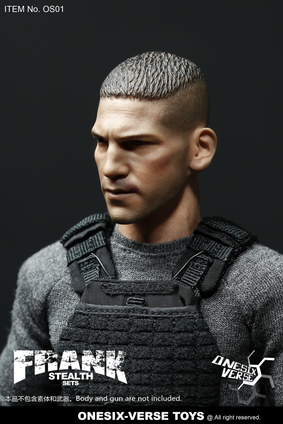 clothes - NEW PRODUCT: ONESIX-VERSE TOYS: 1/6 Frank FRANK Sneak Equipment Set (including head carving) OS01#  19324211