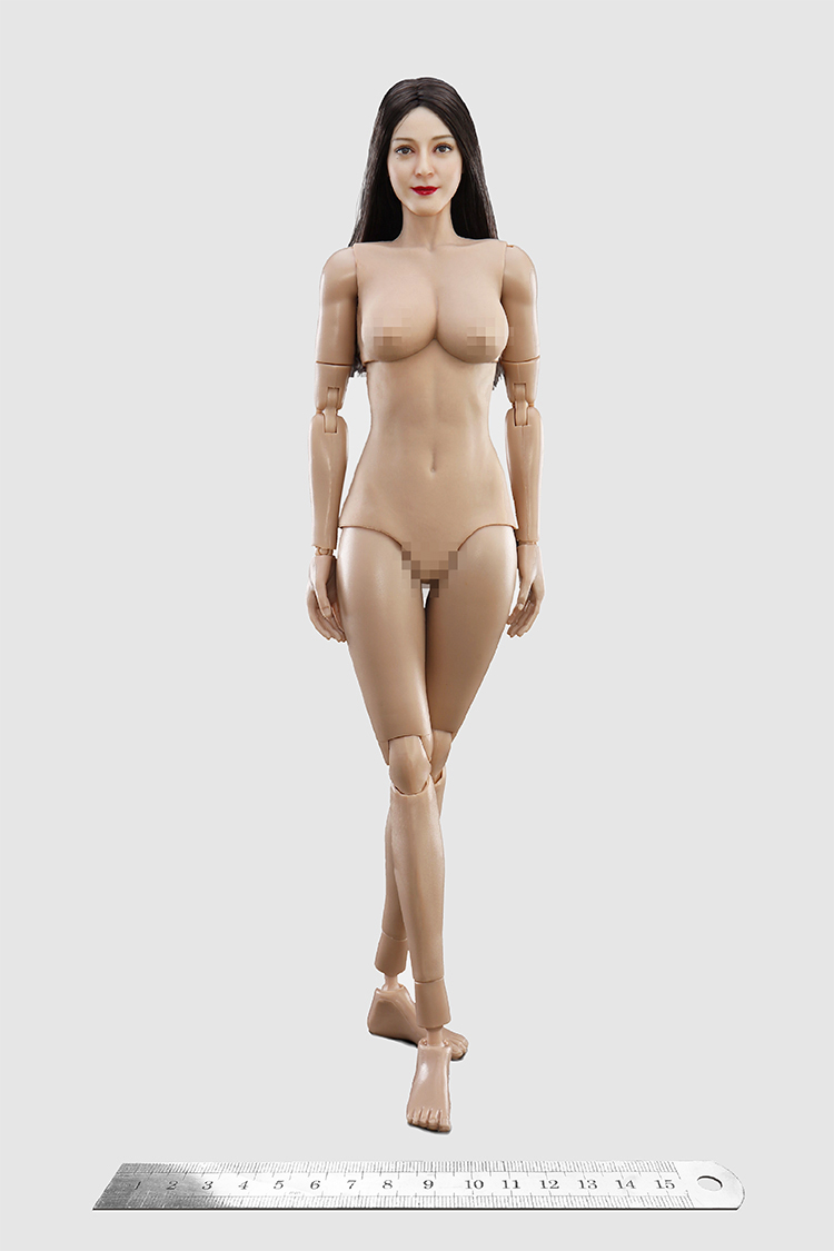 body - NEW PRODUCT: VERYCOOL: 1/6 Asian beauty head carving + VC 3.0 semi-encapsulated female body suit & costume red dress set single sale 19331010