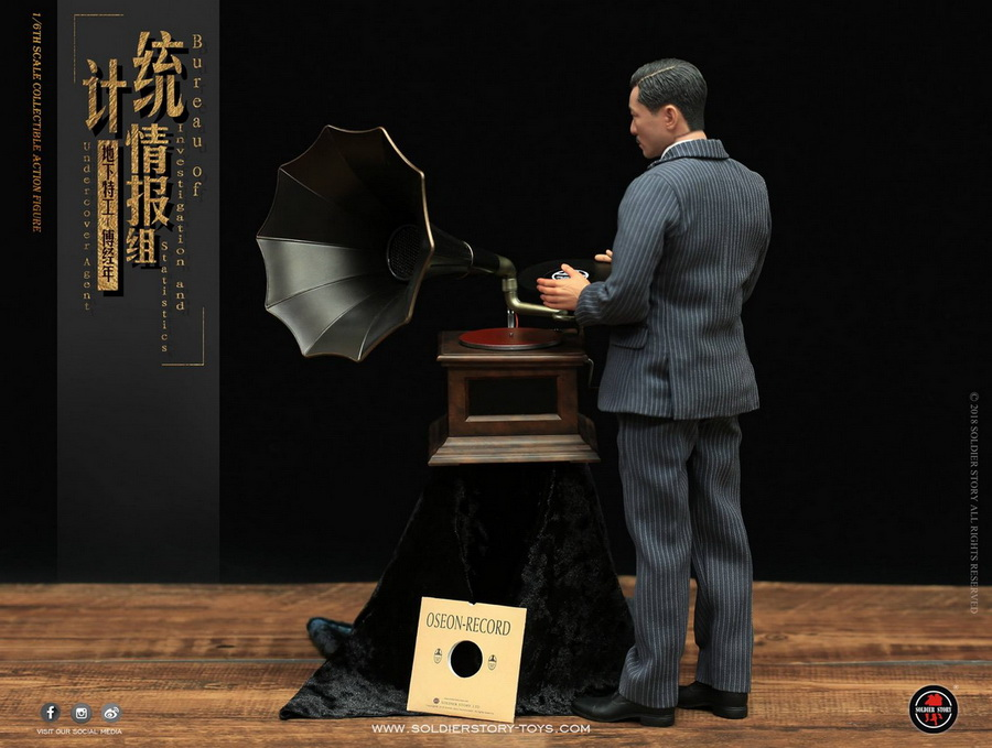 SoldierStory - NEW PRODUCT: SoldierStory new product: 1/6 World War II statistical intelligence group underground agent Fu Jingian - Shanghai 1942 (SS113#) 1935