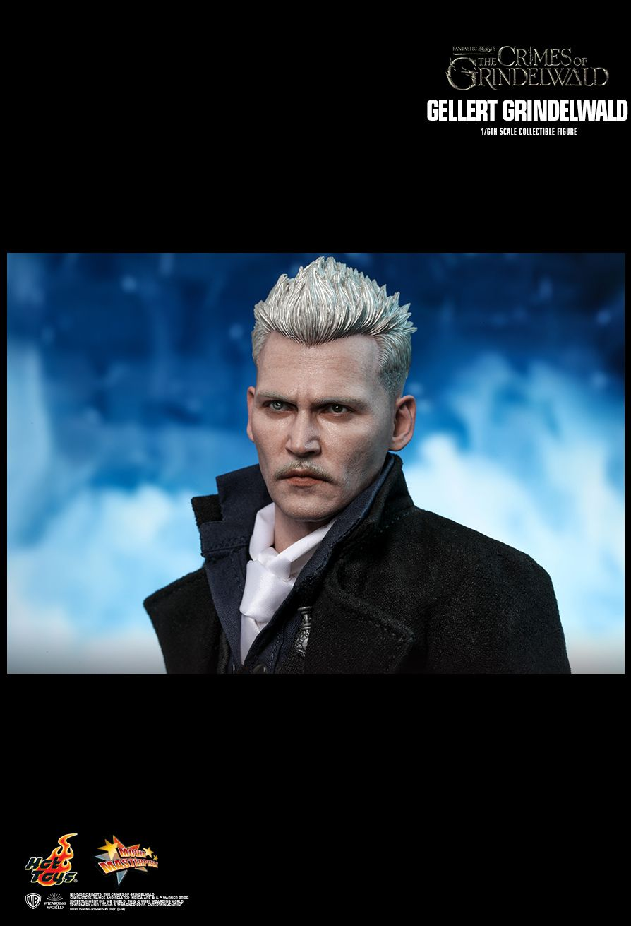 NEW PRODUCT: HOT TOYS: FANTASTIC BEASTS: THE CRIMES OF GRINDELWALD GELLERT GRINDELWALD 1/6TH SCALE COLLECTIBLE FIGURE 1940