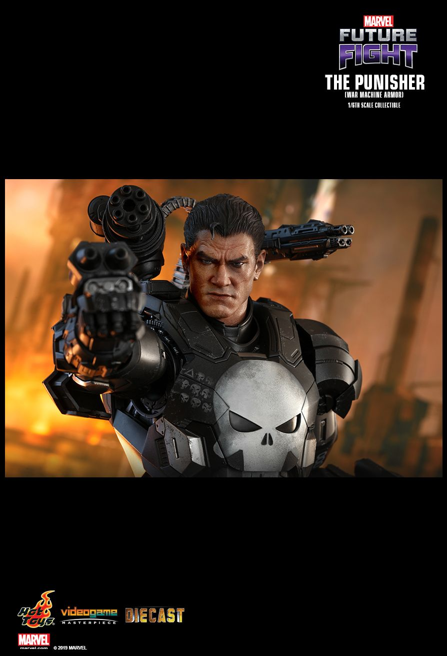 Videogame - NEW PRODUCT: HOT TOYS: MARVEL FUTURE FIGHT THE PUNISHER (WAR MACHINE ARMOR) 1/6TH SCALE COLLECTIBLE FIGURE 1950