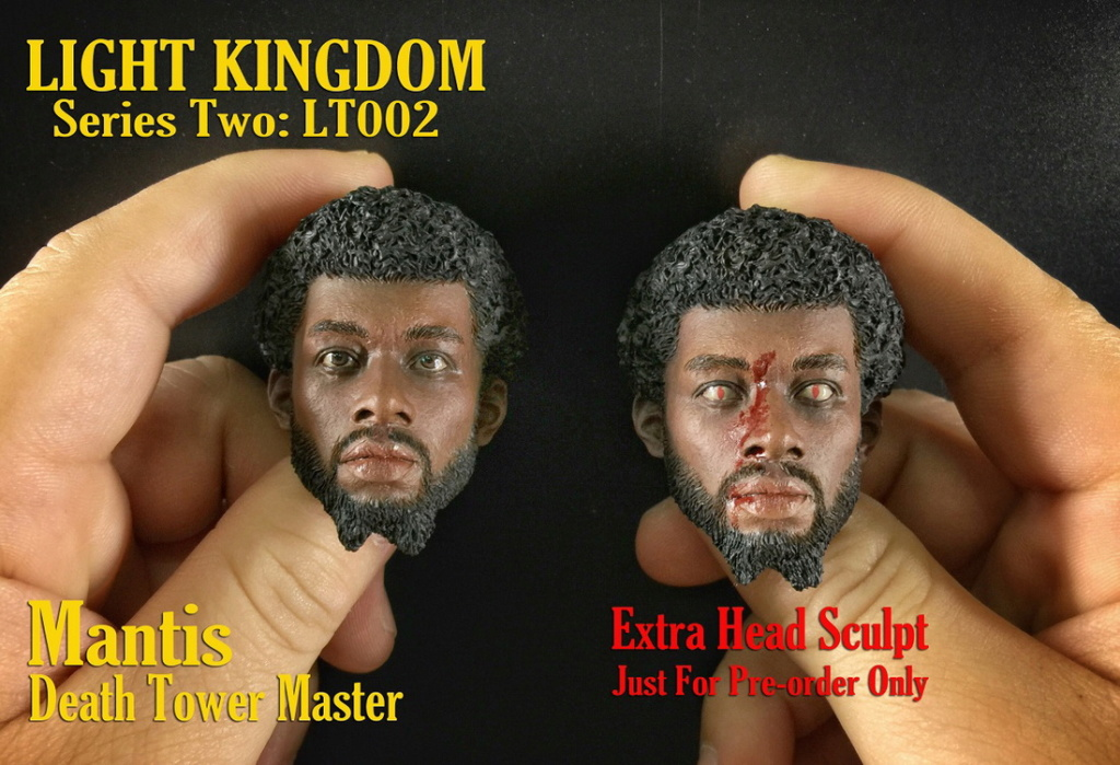"DeathTowerMaster - NEW PRODUCT: LIGHT KINGDOM Light Army 団 New Products: 1/6 Death Tower Master ""螳螂"" Kit (#LT002) 19540610"