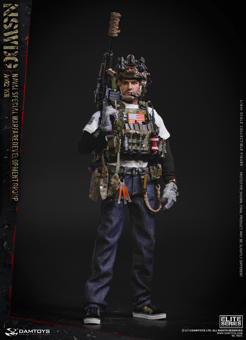 modernmilitary - NEW PRODUCT: DAMTOYS: 1/6 US Navy Special Operations Development Group NSWDG-AOR2 camouflage version 78072 # 19584910