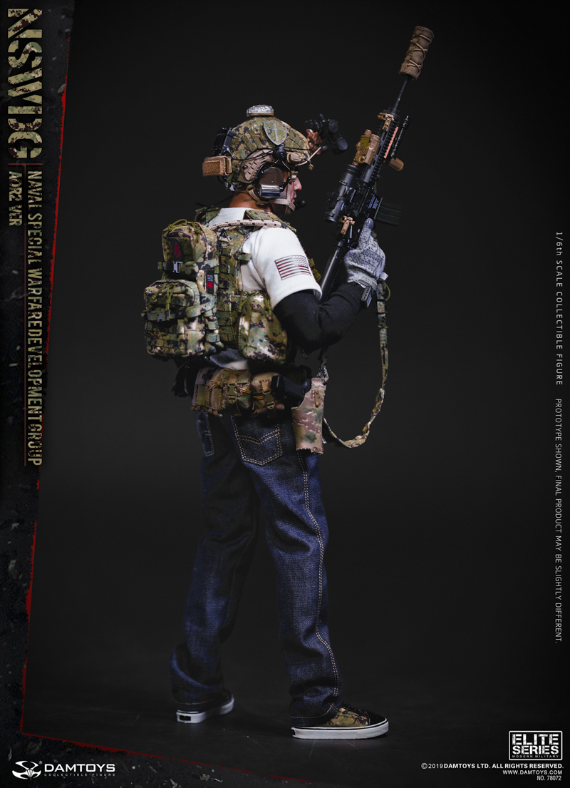 modernmilitary - NEW PRODUCT: DAMTOYS: 1/6 US Navy Special Operations Development Group NSWDG-AOR2 camouflage version 78072 # 19585010