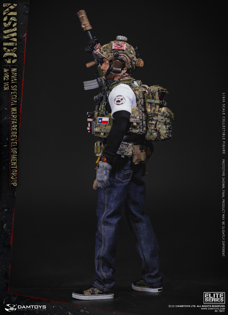 modernmilitary - NEW PRODUCT: DAMTOYS: 1/6 US Navy Special Operations Development Group NSWDG-AOR2 camouflage version 78072 # 19585011