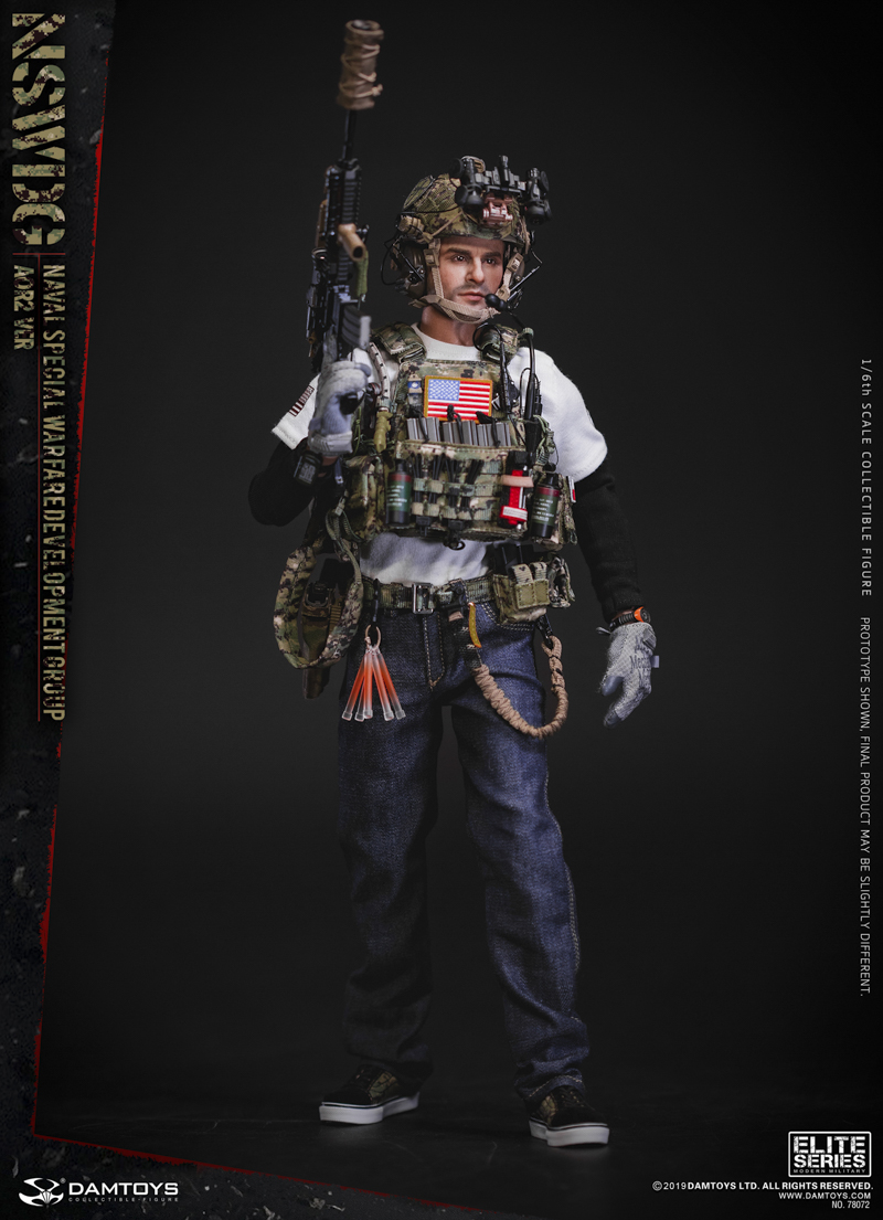 modernmilitary - NEW PRODUCT: DAMTOYS: 1/6 US Navy Special Operations Development Group NSWDG-AOR2 camouflage version 78072 # 19585110