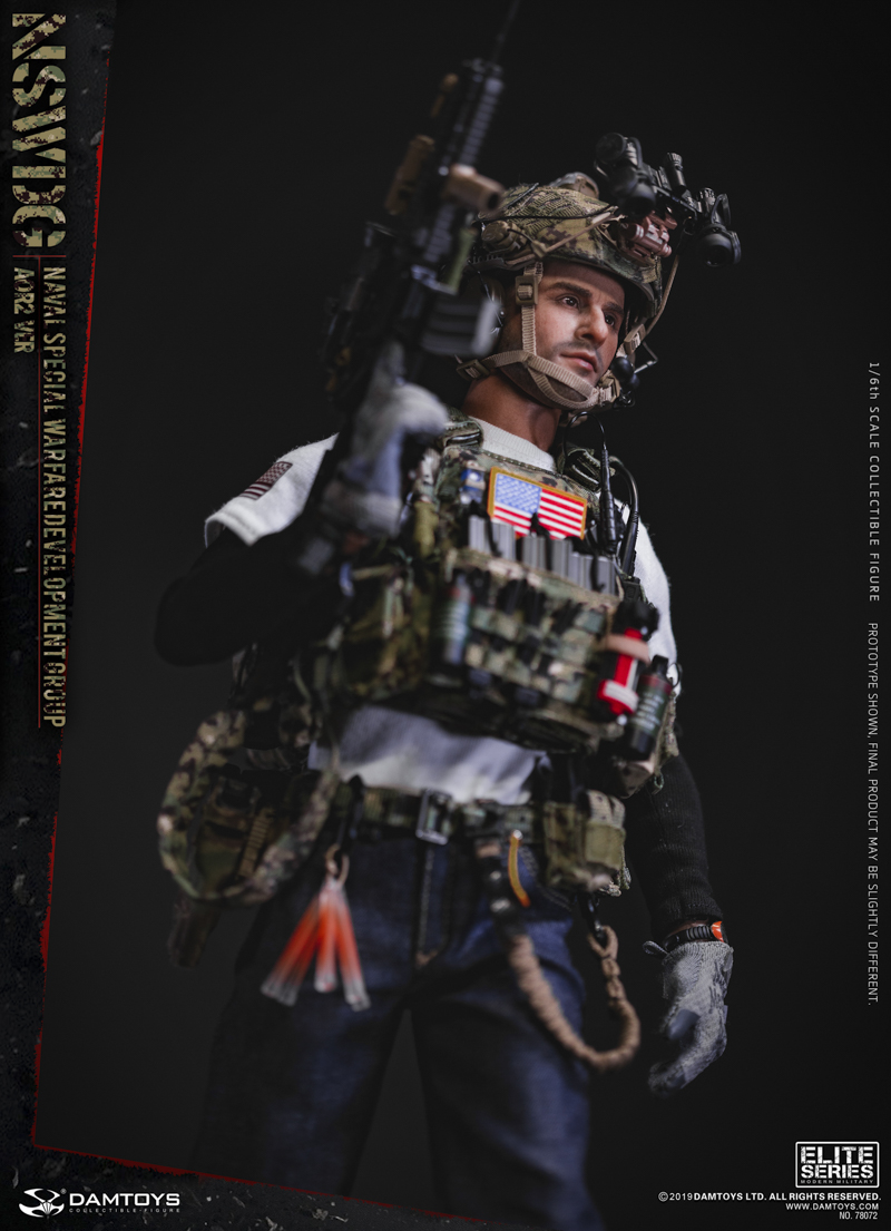 modernmilitary - NEW PRODUCT: DAMTOYS: 1/6 US Navy Special Operations Development Group NSWDG-AOR2 camouflage version 78072 # 19585210