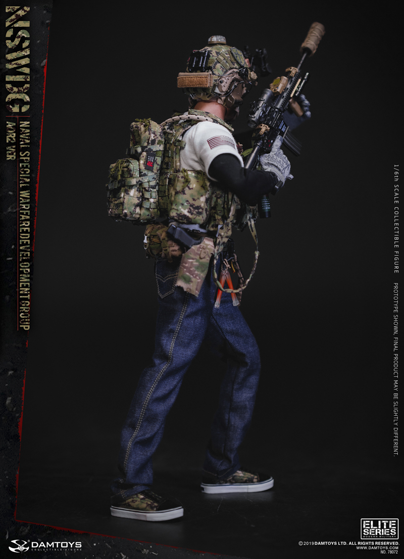 modernmilitary - NEW PRODUCT: DAMTOYS: 1/6 US Navy Special Operations Development Group NSWDG-AOR2 camouflage version 78072 # 19585310