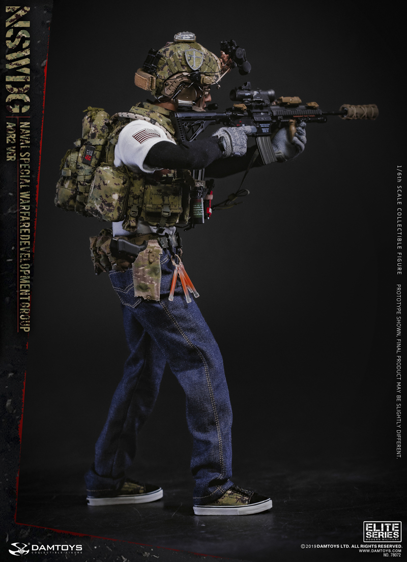 modernmilitary - NEW PRODUCT: DAMTOYS: 1/6 US Navy Special Operations Development Group NSWDG-AOR2 camouflage version 78072 # 19585410