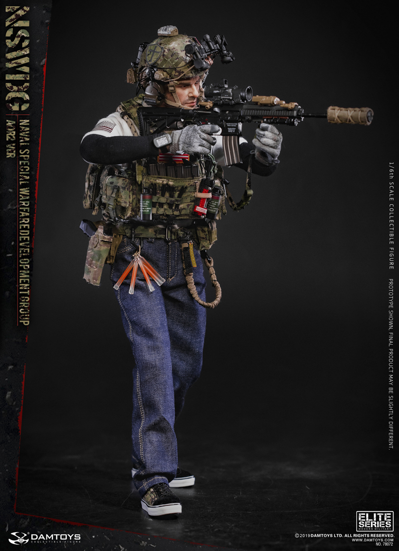 modernmilitary - NEW PRODUCT: DAMTOYS: 1/6 US Navy Special Operations Development Group NSWDG-AOR2 camouflage version 78072 # 19585511