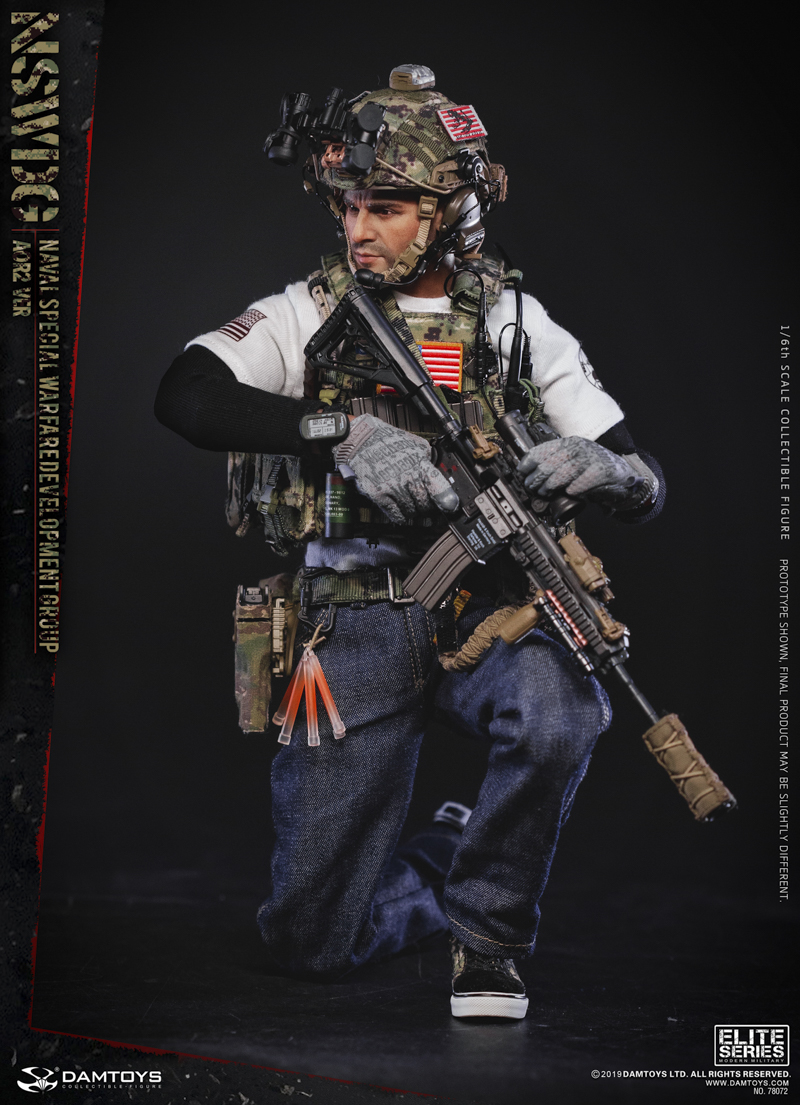modernmilitary - NEW PRODUCT: DAMTOYS: 1/6 US Navy Special Operations Development Group NSWDG-AOR2 camouflage version 78072 # 19585611
