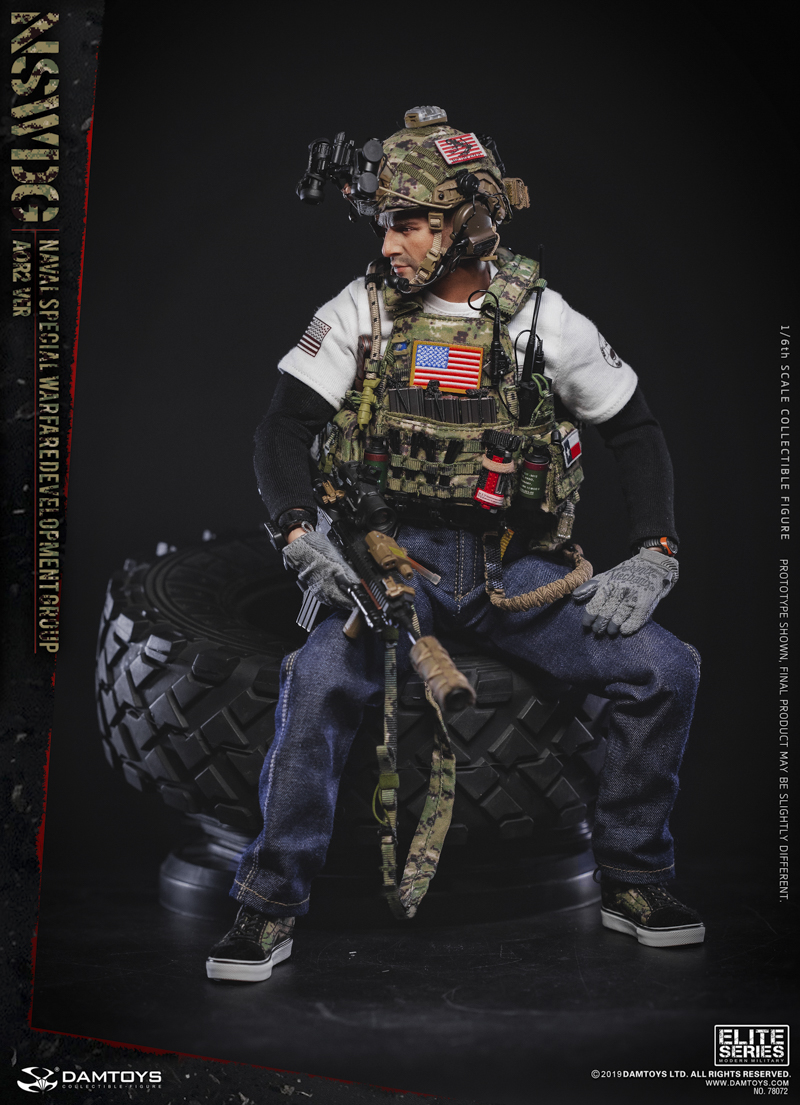 modernmilitary - NEW PRODUCT: DAMTOYS: 1/6 US Navy Special Operations Development Group NSWDG-AOR2 camouflage version 78072 # 19585711