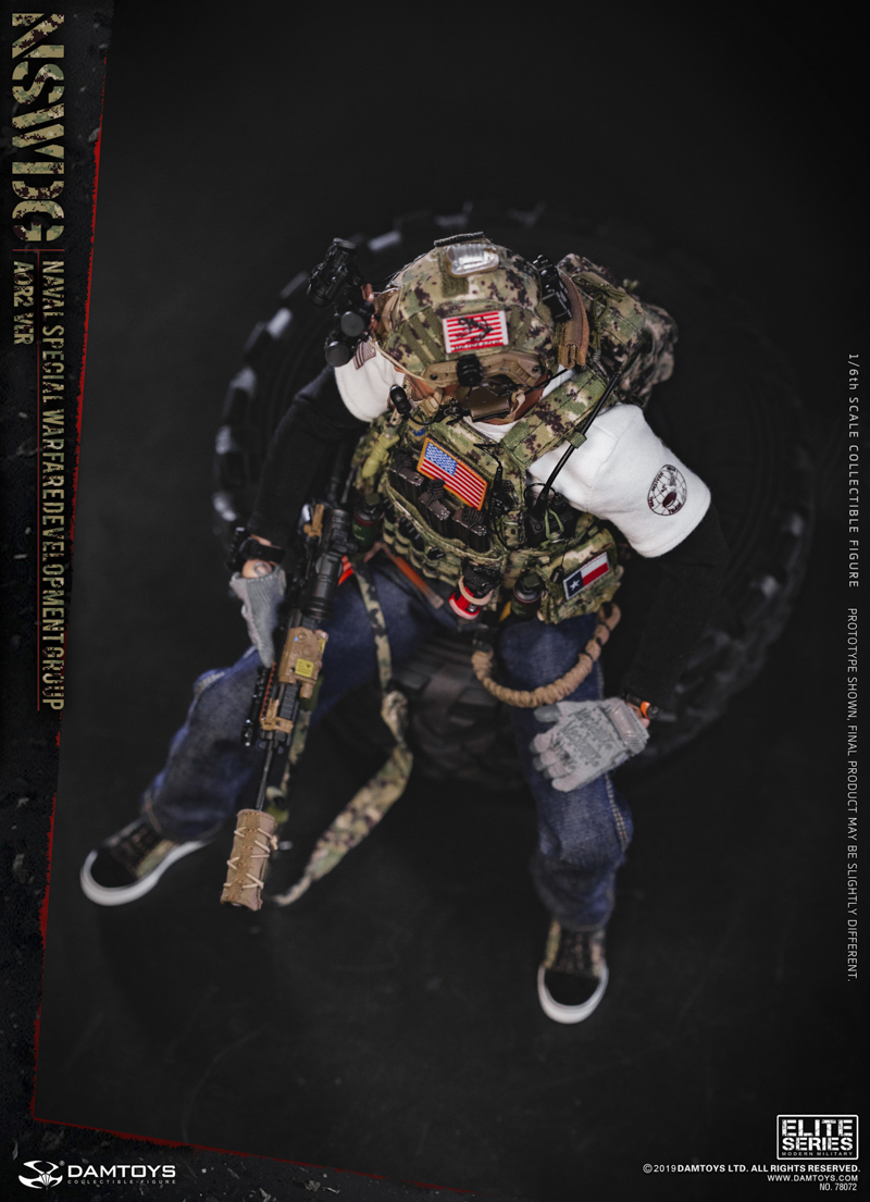 modernmilitary - NEW PRODUCT: DAMTOYS: 1/6 US Navy Special Operations Development Group NSWDG-AOR2 camouflage version 78072 # 19585811