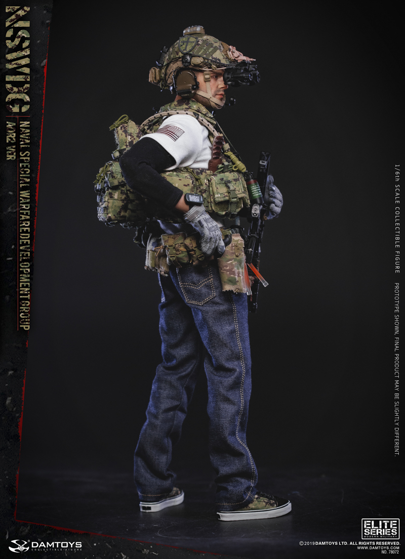 modernmilitary - NEW PRODUCT: DAMTOYS: 1/6 US Navy Special Operations Development Group NSWDG-AOR2 camouflage version 78072 # 19585812