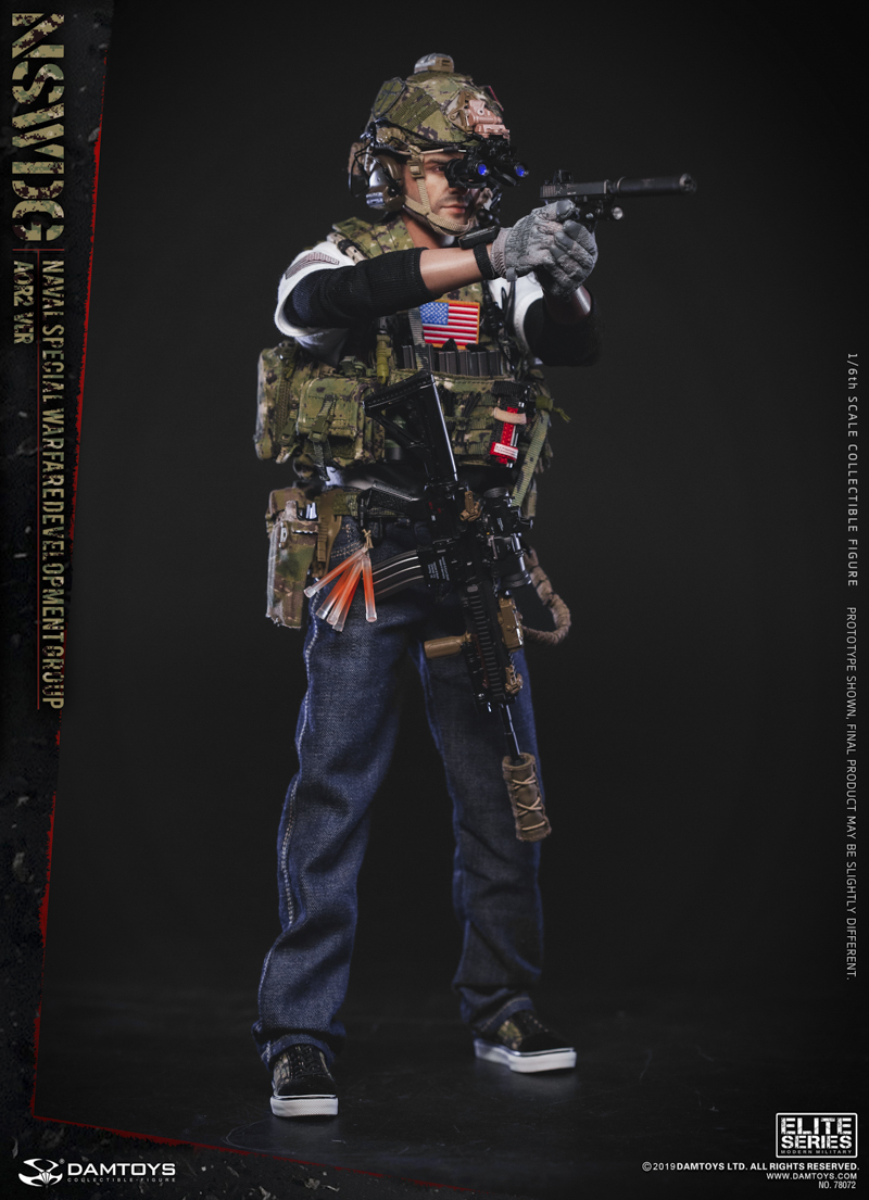 modernmilitary - NEW PRODUCT: DAMTOYS: 1/6 US Navy Special Operations Development Group NSWDG-AOR2 camouflage version 78072 # 19590011