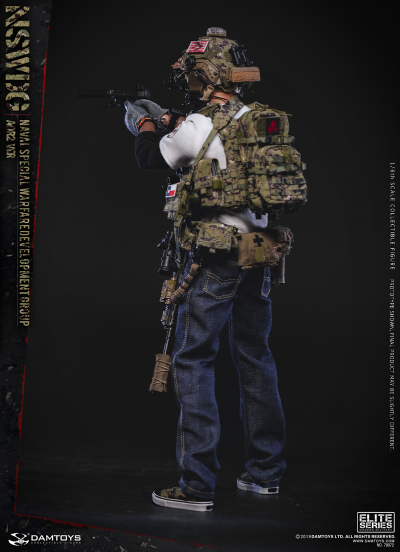 modernmilitary - NEW PRODUCT: DAMTOYS: 1/6 US Navy Special Operations Development Group NSWDG-AOR2 camouflage version 78072 # 19590111
