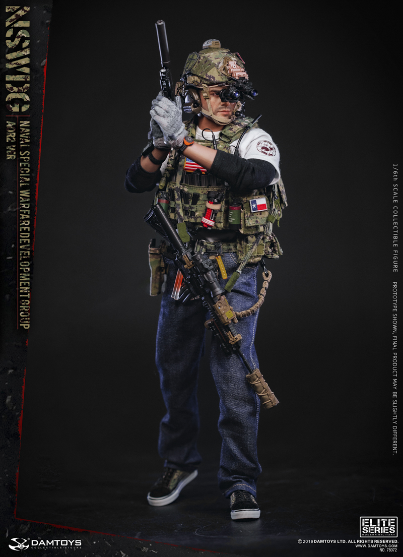 modernmilitary - NEW PRODUCT: DAMTOYS: 1/6 US Navy Special Operations Development Group NSWDG-AOR2 camouflage version 78072 # 19590112