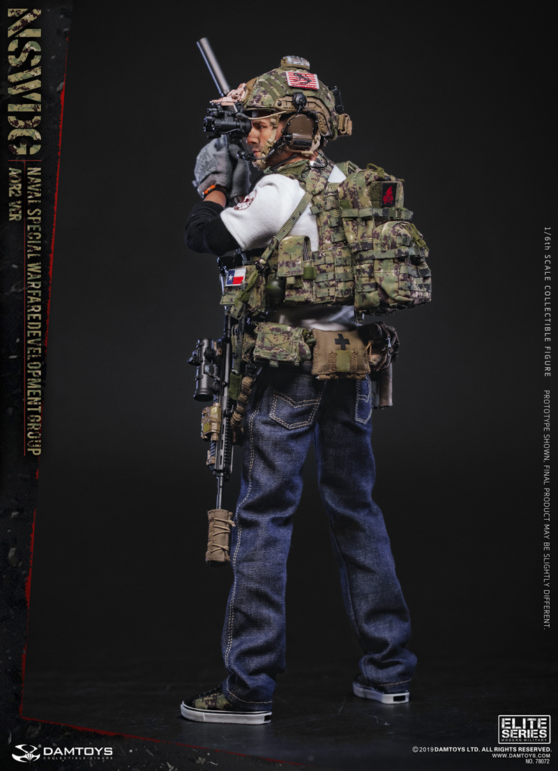 modernmilitary - NEW PRODUCT: DAMTOYS: 1/6 US Navy Special Operations Development Group NSWDG-AOR2 camouflage version 78072 # 19590211