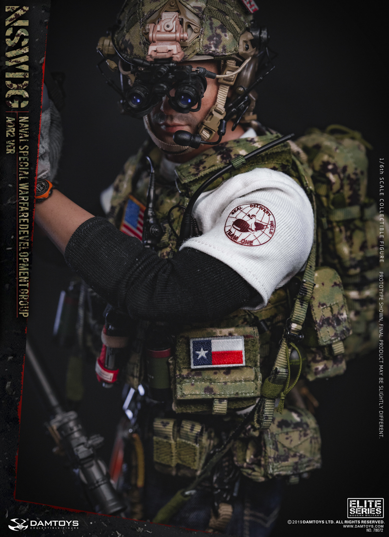 modernmilitary - NEW PRODUCT: DAMTOYS: 1/6 US Navy Special Operations Development Group NSWDG-AOR2 camouflage version 78072 # 19590310