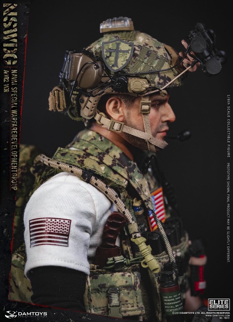 modernmilitary - NEW PRODUCT: DAMTOYS: 1/6 US Navy Special Operations Development Group NSWDG-AOR2 camouflage version 78072 # 19590510